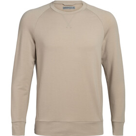 Icebreaker Momentum LS Crewe Men british tan
